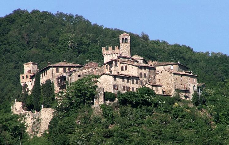 Il borgo medioevale di Vigoleno
